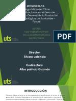 Monografia Clima Organizacional Foscal.pptx