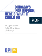 BPI Open Letter to Chicago's New Mayor