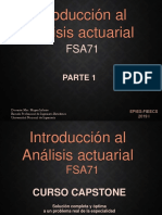Introduccion al analisis actuarial