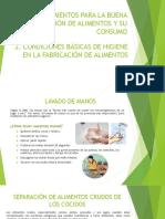 Diapositivas Manipulacion de Alimentos 2
