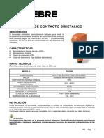 contactor bimetalico