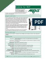 Tc-io-1.21 Rcp Data Sheet