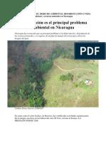 PROBLEMATICA DE EL DERECHO AMBIENTAL DEFORESTACIÓN O VEDA Ambiente y recursos naturales en Nicaragua.docx