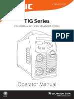 TIG 200 Pulse AC/DC Mini Digital (JT-200DS)