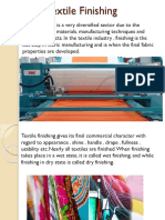 Advancement in Textile Finishing