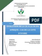 Projet Evolution 2g to 3g