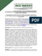 225. Biomonitoramento Da Qualidade Da Água Por Meio Da Utilização de Parâmetros Físicos e Biológicos