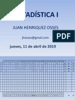 001 Estadística Psicopedagogía 2018