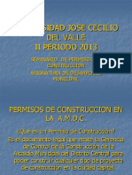 Seminario Permisos de Construccion Tegucigalpa