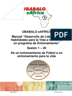 Habilidades Para La Vida Programa de Entrenamiento de Futbol-es