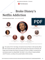 How Iger Broke Disney's Netflix Addiction — the Information
