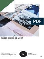 Medio 2019 Taller Diseño de Moda