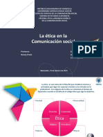 Etica y Regimen Juridico Comunicación Social en Venezuela