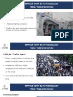 IELTS Vocab_Transportation