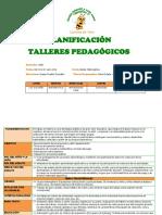 PLANIFICACION Talleres Junio