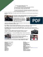 November 29, 2008 Westminster Christmas Parade judging sheet results