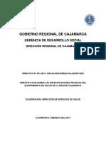 Equipamiento Gobierno Regional de Cajamarca Servicios de Salud_0
