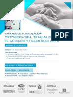 Ortogeriatria y Trauma en el adulto mayor