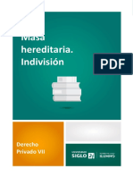 Masa Hereditaria. Indivision