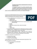 modelo de Plan de Emergencias de Fabrica de Plasticos