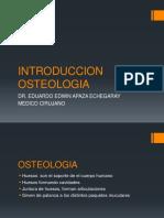 INTRODUCCIÓN OSTEOLOGÍA