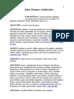 GLOSSARIO MALES DOENÇAS E INDICAÇÕES TERAPEUTICAS.doc