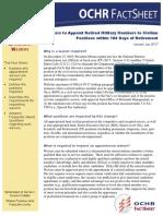 180-Day OCHR Fact Sheet