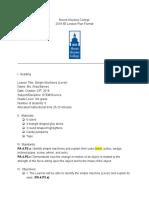 6-e lesson plan  simple machines