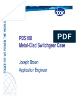 Pds100 Metalclad Sub Case Study