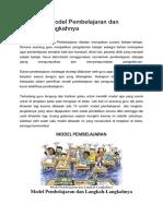 10 Contoh Model Pembelajaran dan Langkah.docx