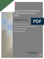 MANUAL PARA LA ELABORACIÓN DE LA TESIS PUCP-CPAL Mayo 2016 FINAL.PDF