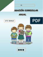 PROGRAMACION ANUAL  5TO - 2019 .docx