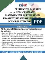 Presentation_The Comprehensive DRRM in Education Framework_20170918