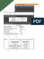 Excel para calculos de abastecimiento de agua potable