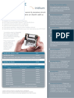 RockBLOCK 9603 Product Information Sheet