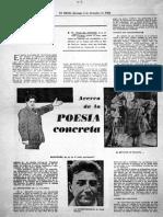Sobre Poesia Concreta - Felix de Athayde - 1965