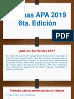 Normas Apa 2019