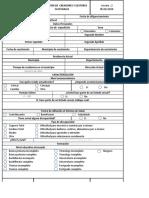 Formato - Identificación de creadores y gestores culturales