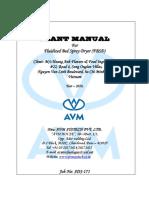 01. Dryer Plant Manual (SDS-171)