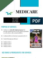medicare  gerontology presentation   1