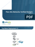 Palo Alto Solution designs