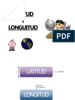 Latitud y Longuitud