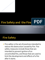 Fire safety and fire code