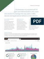 Datasheet - Exinda Network Orchestrator