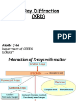 X Ray diffractions