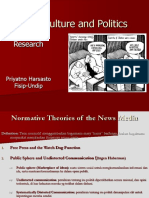 Media, Culture and Politics (2)