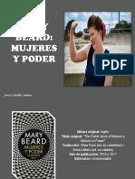 Javier Ceballos Jiménez - Mary Beard