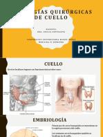 Patologia Quirurgica de Cuello