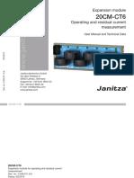 Janitza-20CM-CT6 User Manual En