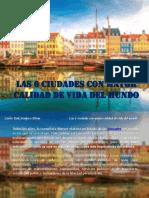 Carlos Erik Malpica Flores - Las 6 ciudades con mayor calidad de vida del mundo